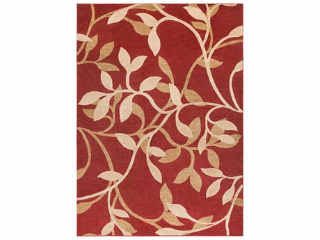 Surya Riley Rectangular Red Area Rug SYRLY5011REC