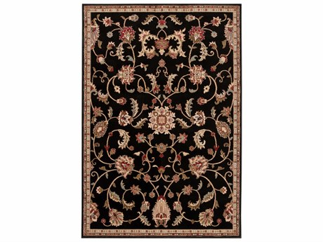 Surya Riley Rectangular Black Area Rug SYRLY5025REC