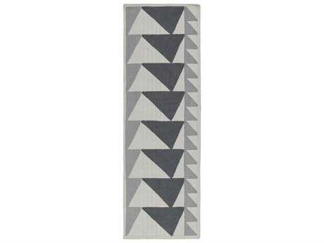 Surya Renata 2'6'' x 8' Rectangular Light Gray Runner Rug