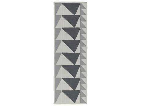 Surya Renata 2'6'' x 8' Rectangular Light Gray Runner Rug