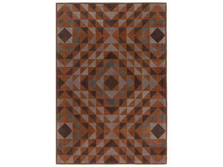 Surya Ranch Rectangular Mocha Area Rug