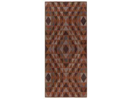 Surya Ranch 2'6'' x 8' Rectangular Mocha Runner Rug