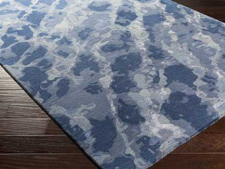 Surya Remarque Rectangular Sky Blue Area Rug