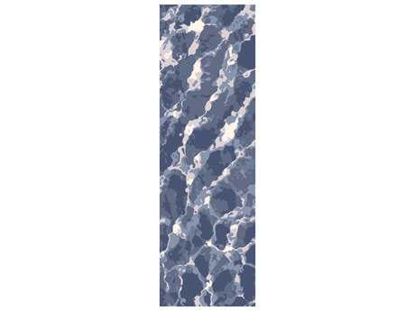 Surya Remarque 2'6'' x 8' Rectangular Sky Blue Runner Rug