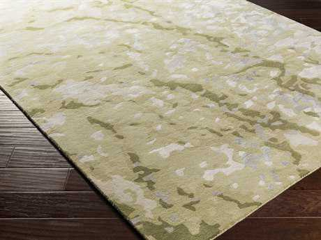 Surya Remarque Rectangular Olive Area Rug