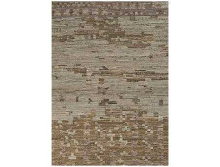 Surya Rustic Rectangular Gray Area Rug