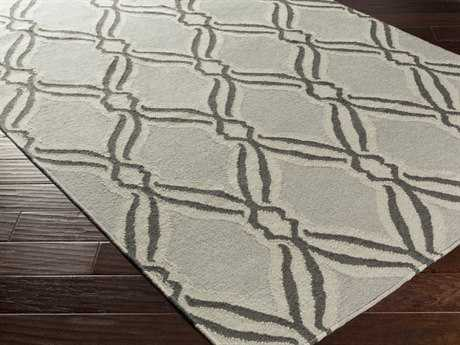 Surya Rivington Rectangular Light Gray Area Rug