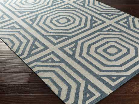 Surya Rivington Rectangular Teal Area Rug