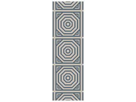 Surya Rivington 2'6'' x 8' Rectangular Teal Runner Rug