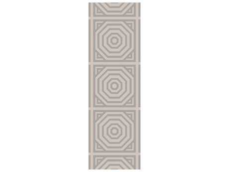 Surya Rivington 2'6'' x 8' Rectangular Light Gray Runner Rug
