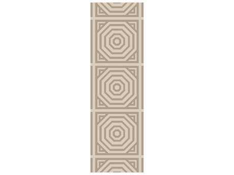 Surya Rivington 2'6'' x 8' Rectangular Ivory Runner Rug