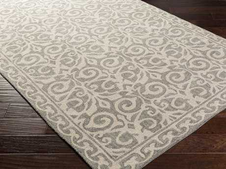 Surya Samual Rectangular Forest & Gray Area Rug