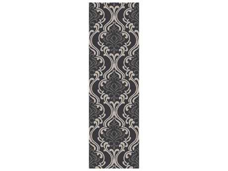 Surya Samual 2'6'' x 8' Rectangular Light Gray Runner Rug