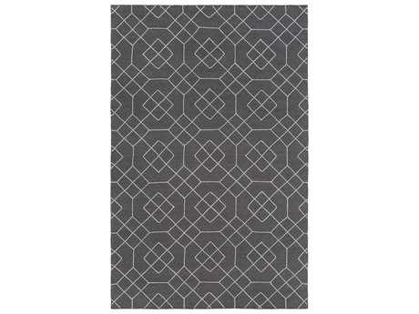 Surya Seabrook Rectangular Charcoal Area Rug