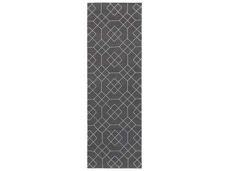Surya Seabrook 2'6'' x 8' Rectangular Charcoal Runner Rug