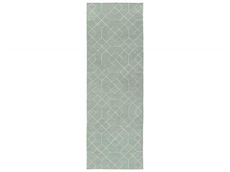 Surya Seabrook 2'6'' x 8' Rectangular Sea Foam Runner Rug