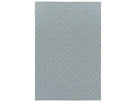 Surya Seabrook Rectangular Teal Area Rug