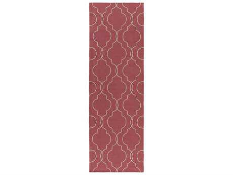 Surya Seabrook 2'6'' x 8' Rectangular Burgundy Runner Rug