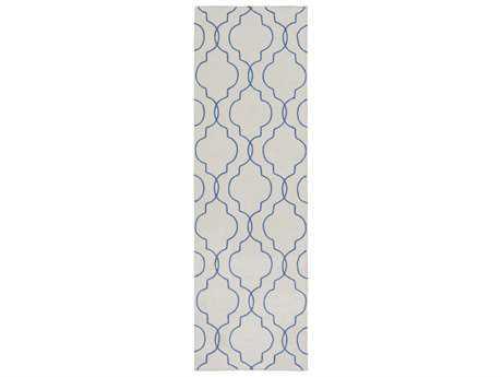 Surya Seabrook 2'6'' x 8' Rectangular Cobalt Runner Rug