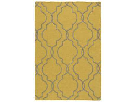 Surya Seabrook Rectangular Gold Area Rug