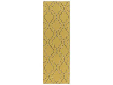 Surya Seabrook 2'6'' x 8' Rectangular Gold Runner Rug