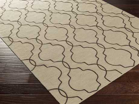 Surya Seabrook Rectangular Light Gray Area Rug