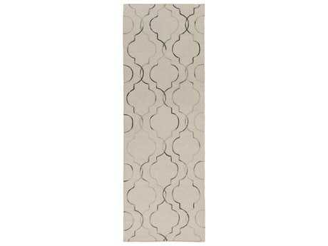 Surya Seabrook 2'6'' x 8' Rectangular Light Gray Runner Rug
