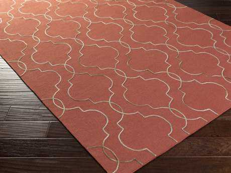 Surya Seabrook Rectangular Cherry Area Rug
