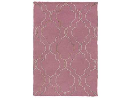 Surya Seabrook Rectangular Rust Area Rug