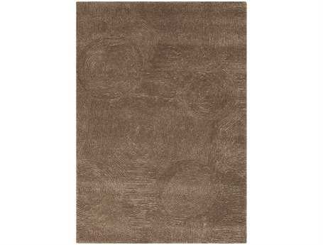 Surya Sublime Rectangular Brown Area Rug