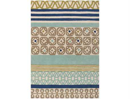 Surya Scion Rectangular Blue Area Rug