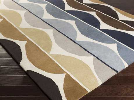 Surya Scion Rectangular Olive & Mocha Area Rug