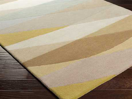 Surya Scion Rectangular Gold Area Rug