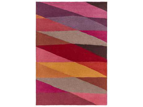 Surya Scion Rectangular Cherry Area Rug