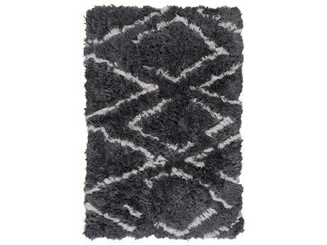 Surya Scout Rectangular Charcoal Area Rug