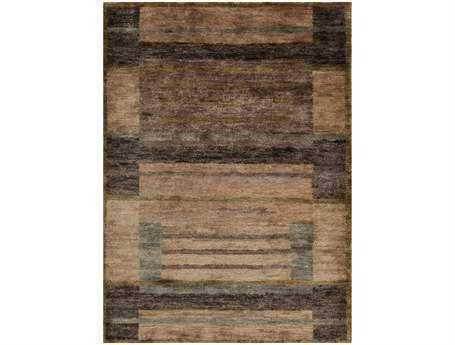 Surya Scarborough Rectangular Brown Area Rug