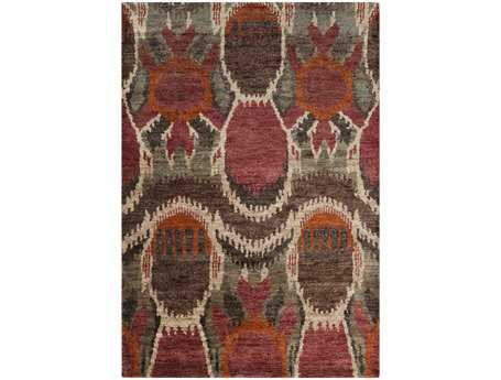 Surya Scarborough Rectangular Red Area Rug