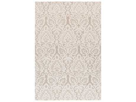 Surya Scott Rectangular Cream & Tan Area Rug
