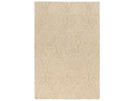 Surya Scott Rectangular Khaki & Cream Area Rug