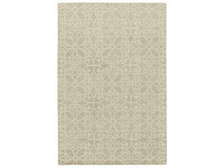 Surya Scott Rectangular Mint & Khaki Area Rug