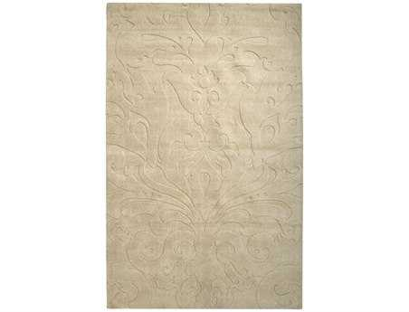 Surya Candice Olson Sculpture Rectangular Beige Area Rug
