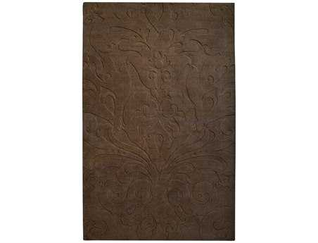 Surya Candice Olson Sculpture Rectangular Brown Area Rug