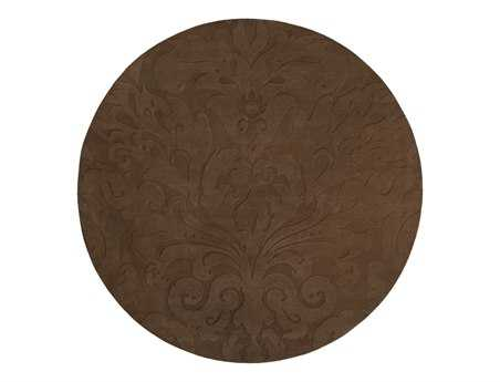 Surya Candice Olson Sculpture Round Brown Area Rug