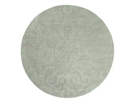 Surya Candice Olson Sculpture 8' Round Gray Area Rug