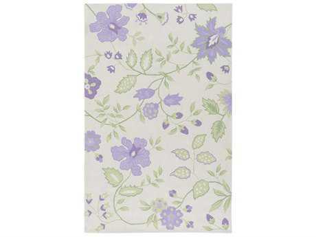 Surya Skidaddle Rectangular Bright Purple, Lavender & Violet Area Rug