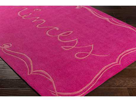 Surya Skidaddle Rectangular Bright Pink & Rose Area Rug