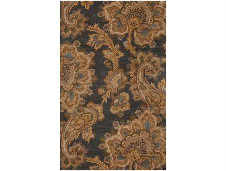 Surya Sea Rectangular Gray Area Rug