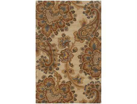 Surya Sea Rectangular Beige Area Rug