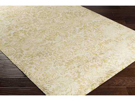 Surya Saverio Rectangular Moss, Lime & Khaki Area Rug