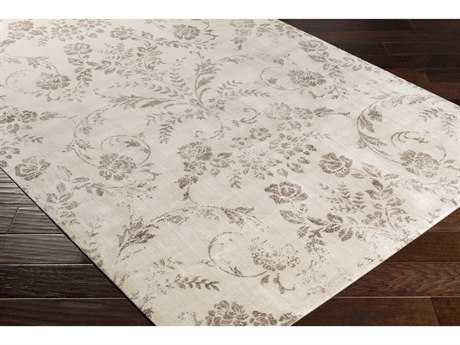 Surya Saverio Rectangular Beige & Camel Area Rug